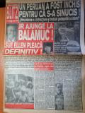 ziarul blitz nr 19-art despre tina turner,al pacino,tom cruise,kim basinger