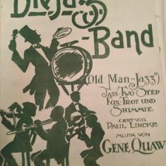 Die jazz band, old man jazz, musik von Gene Quaw
