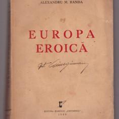 A.M. Randa - Europa Eroica, 1939
