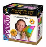 Cumpara ieftin Set de creat puzzle pillow, D-Toys
