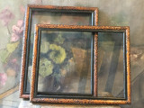 Lot rame din lemn pentru fotografii oglinda goblen sau alte lucruri frumoase !, Oval