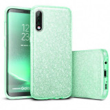 Cumpara ieftin Husa de protectie Samsung Galaxy A30 / Samsung Galaxy A50 2019 Verde Sclipici Color Silicon TPU Carcasa