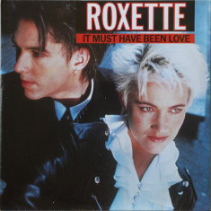 """Roxette - It Must Have Been Love (1990, Parlophone) Disc vinil single 7"""""""