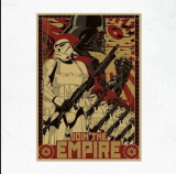 Poster star wars clone yoda film movie