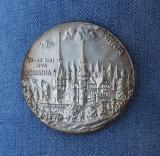 Medalie Muzeul Peles - Sinaia - Regalitate - Castelul - Stiinta contemporana