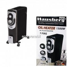 Calorifer Electric 7 Elementi cu ulei 1500W Hausberg HB8900