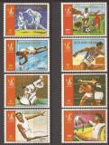GUINEA ECUATORIALA SPORT J.O. DE VARA 1980 (serie dantelata) MNH
