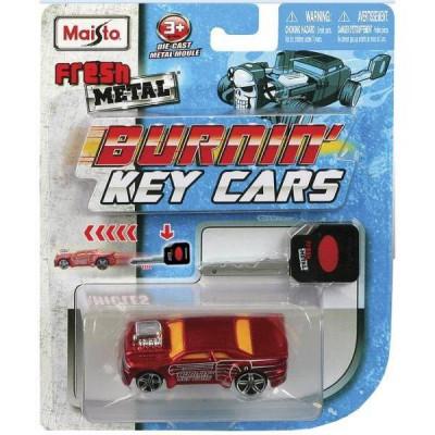 Macheta Maisto Burning Key Cars foto