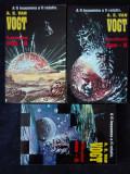 A.E. van Vogt – Lumea non-A. Jucatorii non-A. Sfarsitul non-A  (3 vol.)
