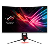 Monitor LED Gaming Curbat Asus XG32VQR 31.5 inch 4ms Dark Grey Red