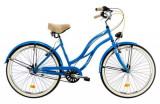 Cumpara ieftin Bicicleta Oras DHS 2698 M, roti 26inch, cadru otel 457mm, frana Torpedou + V-Brake (Albastru)