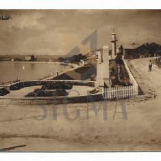 CARTE POSTALA, MANGALIA, 1934