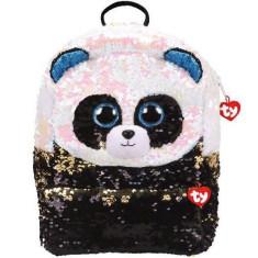 Rucsac cu paiete ursul panda BAMBOO, 2 compartimente - Ty