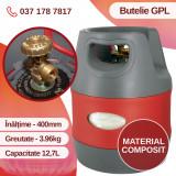 Butelie gaz GPL 12,7 L, compozit, 3.96KG