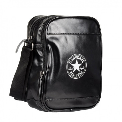Geanta Converse Cross Body black-white 13636C001 foto
