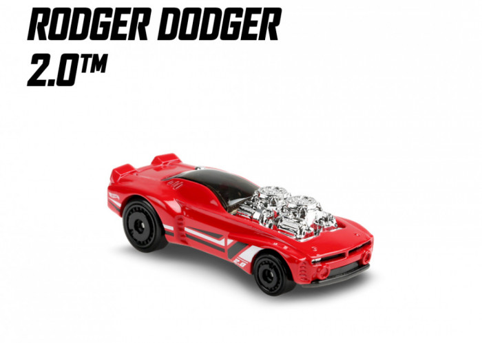 rodger dodger 2.0 hot wheels 7/10 muscle mania 2020