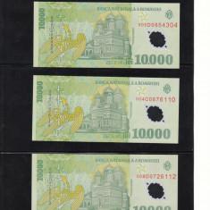 Romania 10000 lei 2000 necirculata P112a semnatura Ghizari