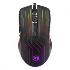Mouse gaming Marvo M313 Senzor Optic 6400 DPI iluminare RGB