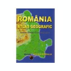 Romania Atlas Geografic. Contine sinteze fizico-economice (Marius Lungu)