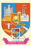 România, LP 942/1977, Stemele judeţelor (E-V), (uzuale), c.p. maximă, Sălaj