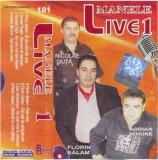 Caseta Manele Live 1, originala