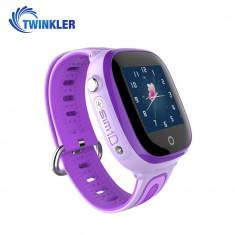 Ceas Smartwatch Pentru Copii Twinkler TKY-DF31 cu Functie Telefon, Localizare GPS, Camera, Pedometru, SOS, IP67 - Mov