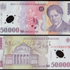 50000 LEI 2001 ( 2004 ) POLIMER  UNC NECIRCULATA