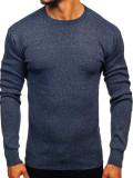 Pulover bărbați bleumarin Bolf 8364