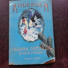 CRAIASA ZAPEZII SI ALTE POVESTI - ANDERSEN