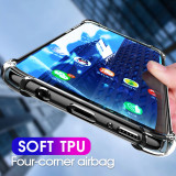Cumpara ieftin Husa silicon transparent anti shock Samsung A20E