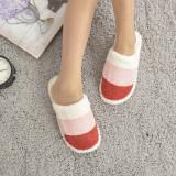 Cumpara ieftin Papuci De Casa De Dama Tri Color Rosii 40-41 EU Rosu