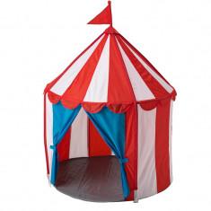 Cort pentru copii, inaltime 120 cm, model circ, multicolor