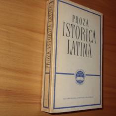 PROZA  ISTORICA  LATINA.  CAESAR-SALLUSTIUS-TITUS LIVIUS-TACITUS- SUETONIUS  *