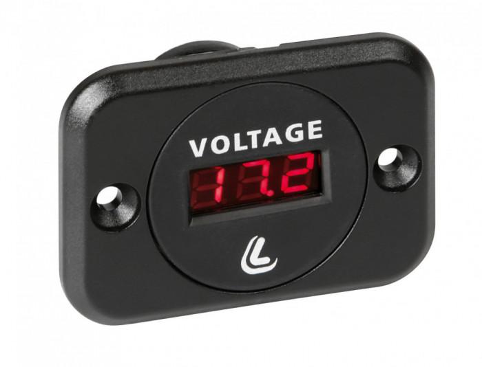 Voltmetru digital acumulator Ext-9 - 6 30V