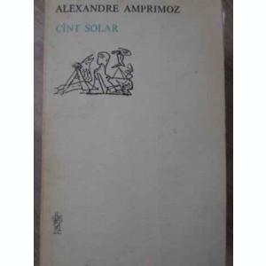 CANT SOLAR - ALEXANDRE AMPRIMOZ