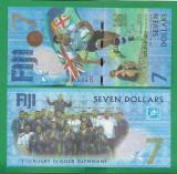 = FIJI - 7 DOLLARS - 2017 -  UNC   =