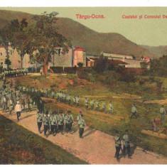 SV * Targu Ocna  / Bacau * CASTELUL si CONVOIUL DETINUTILOR * INCHISOAREA * 1911