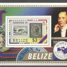 Belize 1984 Expo, Ausipex '84, Melbourne, perf. sheet, MNH S.086