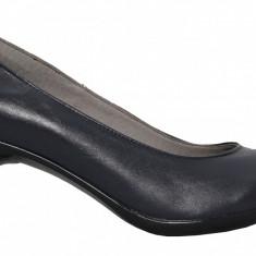 Pantofi dama cu toc Ninna Art 164 bleumarin