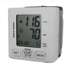 Tensiometru electronic de incheietura Well, LCD, 60 memorii, oprire automata