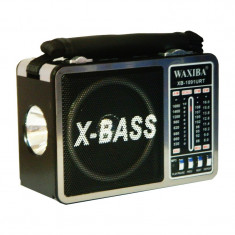 Radio portabil Waxiba XB-1091URT, difuzor incorporat