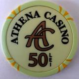 Jeton Athena Casino 50 Lei