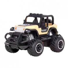 Mini rc car army quer