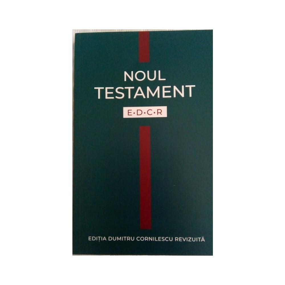 Noul Testament Edcr Editia Dumitru Cornilescu Revizuita