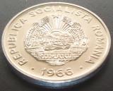 Moneda 15 BANI - RS ROMANIA, anul 1966   *cod 2311 B - UNC