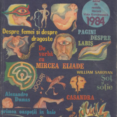 * * * - ALMANAH VIATA ROMANEASCA, ed. Revista Viata Romaneasca, Bucuresti, 1984, Alta editura