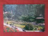 Slanic Moldova - vedere din parc - carte postala necirculata, Fotografie