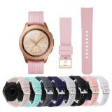 Curea silicon 20mm ceas Samsung Galaxy Watch 42mm 3 41mm Galaxy Watch Active 2