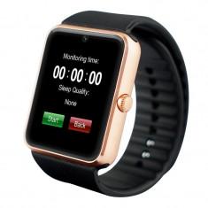 Smartwatch U-Watch GT08 Bluetooth Auriu Compatibil SIM, MicroSD