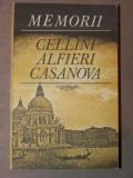 MEMORII - CELLINI ALFIERI CASANOVA BUCURESTI 1981